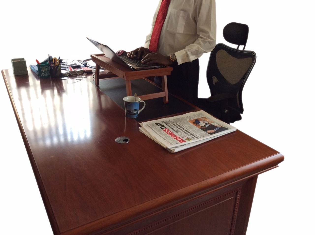 Folding Bed Tray Laptop Table Brown Craftsman